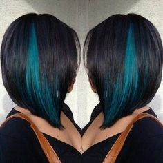 love turquoise streaks