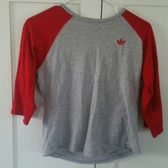 Adidas 3/4 sleeve baseball tee Super cute Adidas Tops Tees - Long Sleeve