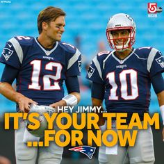 It's Jimmy Garoppolo's team for now as Tom Brady begins his 4-game suspension.
