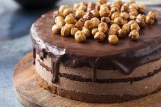 Tort #Gianduia #delektujemy #delecta #hazelnuts #nuts #chocolate #desert