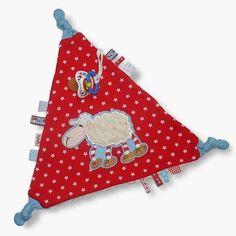 Schmuse-Schnuffel-Schnullertuch *Schaf* von bySaM - so einzigartig wie Ihr Kind auf DaWanda.com