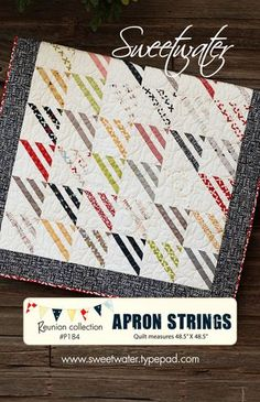 Apron Strings by Sweetwater.  I love their patterns.