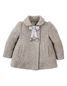Baby Sophie Coat | Grey | Monsoon
