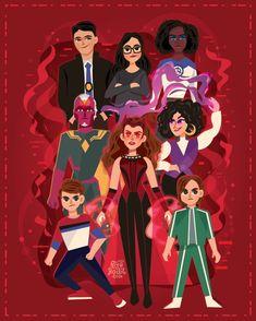 Marvel Comics, Marvel Funny, Marvel Memes, Young Avengers, Marvel Avengers, Marvel Universe, Wanda Marvel, Scarlet Witch Marvel, Marvel Drawings