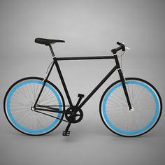 Bike by Me 2010 Black Blue
