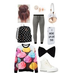 Untitled #9 by fabfive1999 on Polyvore featuring polyvore, fashion, style, Forever 21, Steve Madden, Lord & Taylor, PINK BOW and Frends