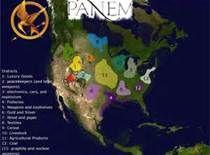 hunger games map of panem