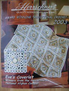 Eve's Coverlet By Susan Stevens - Free Crochet Pattern - (ravelry)