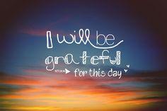 grateful <3