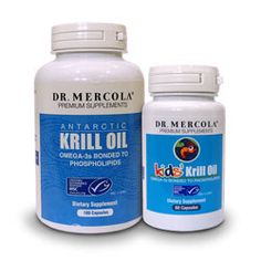 Mercola Krill Oil and Kids' Krill Oil: All the benefits of eating fish, without the mercury, PCBs, and other contaminants!
