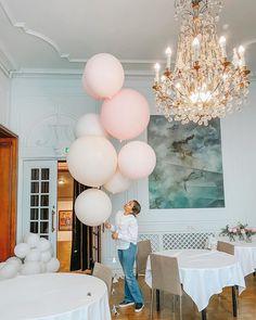 Jumbo Balloons, Chandelier, Ceiling Lights, Lighting, Home Decor, Candelabra, Decoration Home, Room Decor, Chandeliers