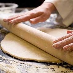 BAKING 101: How to roll pie dough.
