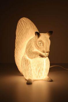 Cute lamp.