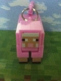I got a rare minecraft hanger pink sheep it's a chase the only a chance of getting it is 1/148