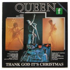#Queen - Thank #God It's #Christmas - #vinil #vinilrecords #music #rock