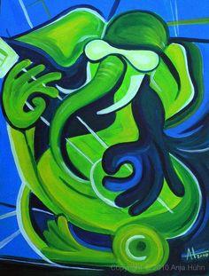 elephant rock,  60x80cm, Acryl, 2010