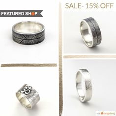 New Zealand based Etsy seller, Tracey, likes to create unique designs. How are they unique? She incorporates ancient techniques in contemporary designs. To see these, drop in her Etsy shop - TraceyRexJewellery. She is using our Product Sale template to promote her discount.   Click on the pin to find out how you can promote your shop in similar layouts and more.