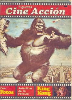 (1) Kiosko del Tiempo (@kioskodeltiempo) | Twitter King Kong, My Childhood, 1975, Movie Posters, Movies, Twitter, Art, Picture Cards, Childhood