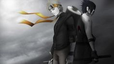 Naruto and Sasuke HD Wallpaper 1920×1080