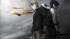 Naruto and Sasuke HD Wallpaper 1920×1080