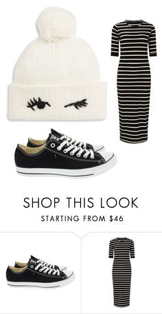 """Untitled #3222"" by bellagioia ❤ liked on Polyvore featuring Converse, Sugarhill Boutique and Kate Spade"