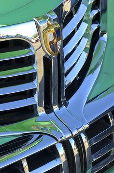 1940's Lincoln Hood Emblem - Car Images by Jill Reger