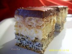 Cake with vanilla cream Romanian Food, Romanian Recipes, Vanilla Cream, Food Cakes, Tiramisu, Biscuit, Cake Recipes, Caramel, Cheesecake