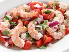 Ceviche de crevettes (Equateur) - Recette de cuisine Marmiton : une recette