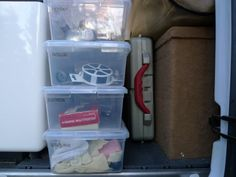 Mikeys Sprinter Expedition Camper: Systems - Organizing tools