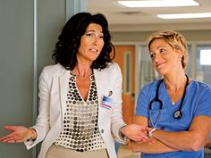 Nurse Jackie | EVE BEST on Nurse Jackie The perfect combination of compassion and snark, Best's Dr. O'Hara is a good part of Jackie's life. And this season,…