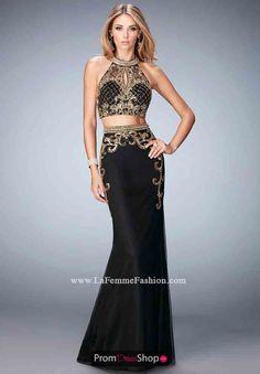 Gigi High Neckline Fitted Dress 22898