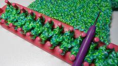 Breiraam en breiring -  handwerkles.nl Knifty Knitter, Loom Knitting Projects, Loom Patterns, Free Pattern, Homemade, Wool, Sewing, Crochet, Crafts