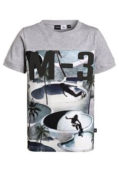 Molo - RANGER - Print T-shirt - grey