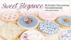 Image result for easy techniques for cake decorators