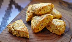 Ariane Daguin's Bacon and Cheddar Scones