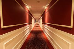 Left at the Elevator, Walk Three Miles and Your Room is on the Right..... just reminded me of getting in late with delays, bad weather and being tired, and trying to find your hotel room..at last..Fantastic shot!!!