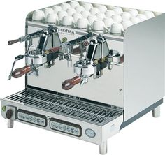 Elektra Sixties Series Deliziosa 2 Group Automatic Commercial Espresso Machine