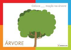 Base de Plasticina Árvore