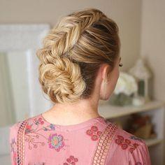 Sunday hair 🌸 Hair tutorial linked in my bio and top linked via 👉 @liketoknow.it ❤️📩 http://liketk.it/2pBf8 #liketkit #missysueblog