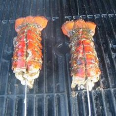 Grilled Rock Lobster Tails Recipe on Yummly