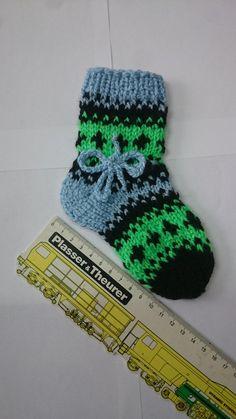 Boys socks. Knitted baby socks. Hand knitted. Newborn gift.