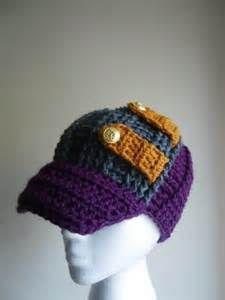 adult crochet hat with brim pattern free - Bing Images