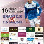 Unami C.P. vs C.D. San Jose, partido correspondiente a la jornada 6 de la