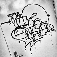 sick drips by Sicoer (@sicoer) . #sicoer #graffiti #handstyle
