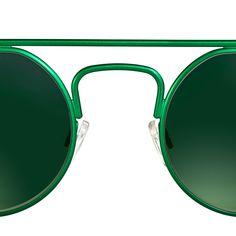 Ohm by theo eyewear Theo Eyewear, Mirrored Sunglasses