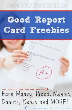 This Good Report Card Freebies List includes SO MANY fun ways for your kiddos to earn rewards just for doing a good job in school this year!