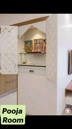 Apartment Bathroom Design, Small Room Design Bedroom, Pooja Room Door Design, Small Apartment Interior, Home Room Design, Dressing Room Design, Tv Unit Interior Design, Temple Design For Home, Kitchen Layout Plans