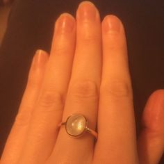 Thanks for this awesome photo of this gorgeous rainbow moonstone ring!