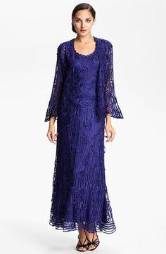 Soulmates Three Piece Crochet Silk Skirt Set | Nordstrom - mother of the groom