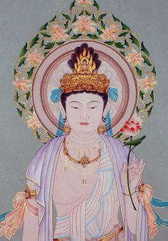 Divine Mother, Buddha Art, Tibetan Buddhism, Guanyin, Chinese Art, Oriental, Tattoo, Drawings, Artwork